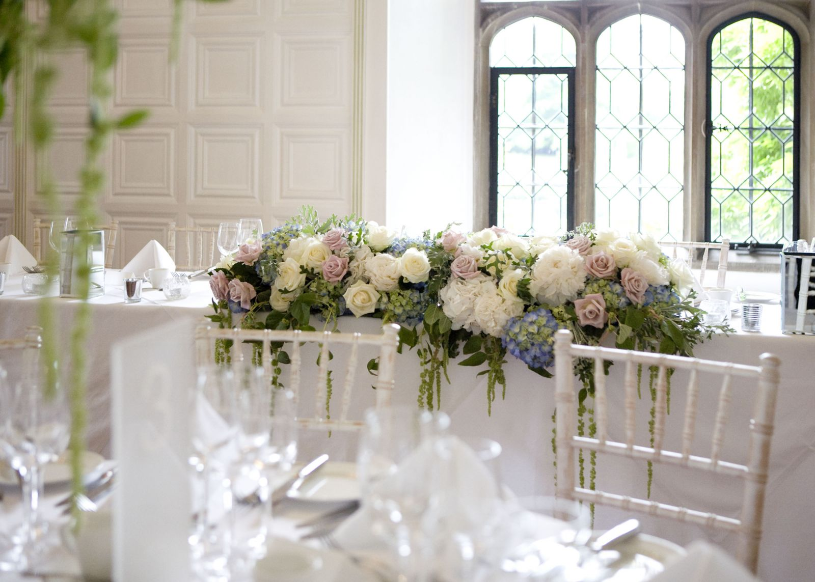 Wedding Flowers - How to style your Top Table • Our Blog • Jades ...